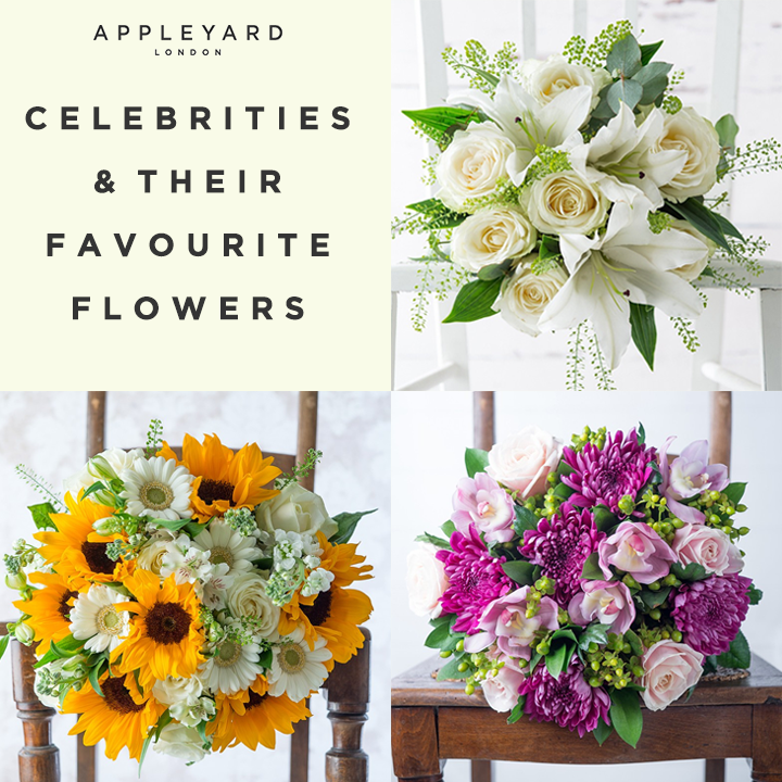 Celebrities And Their Favourite Flowers