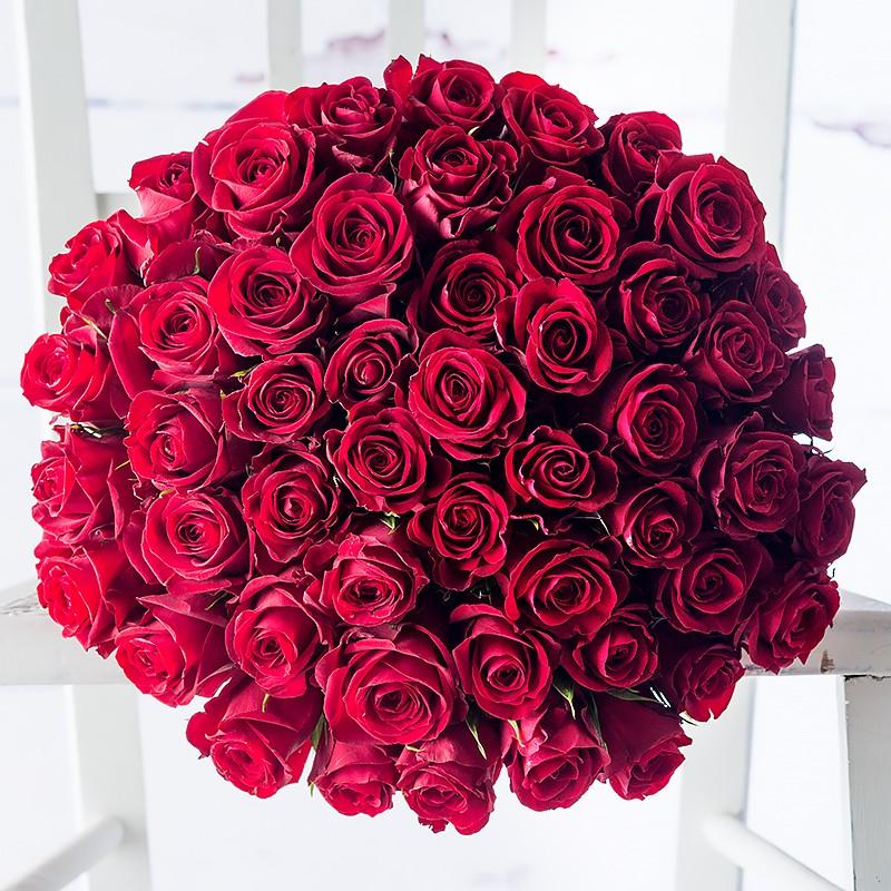 50 red roses by Appleyard London- valentines flowers
