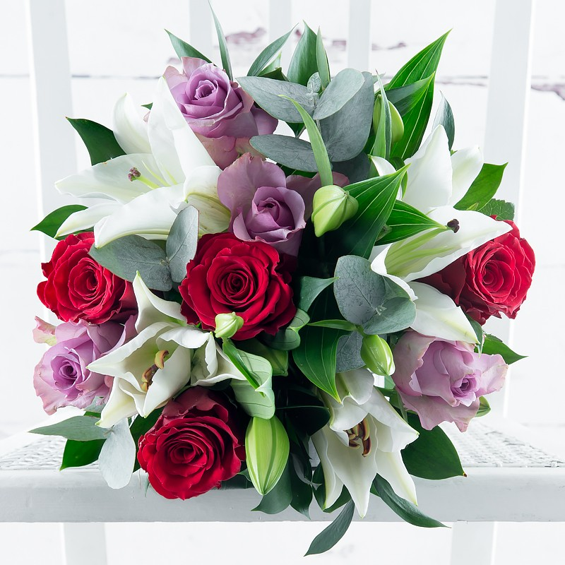 Adore Rose and lily by Appleyard London- valentines flowers