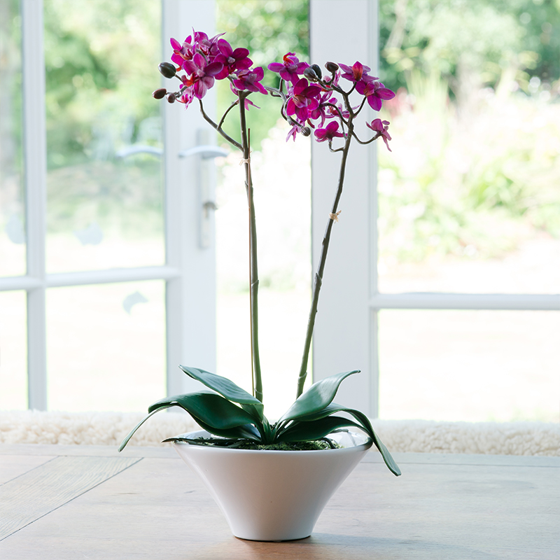 Artificial Magenta Orchid