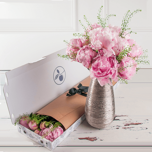 Letterbox Scented Pink Peony