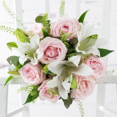 Simply Pink Rose & Lily