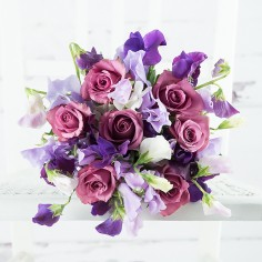 Scented English Sweet Pea & Rose