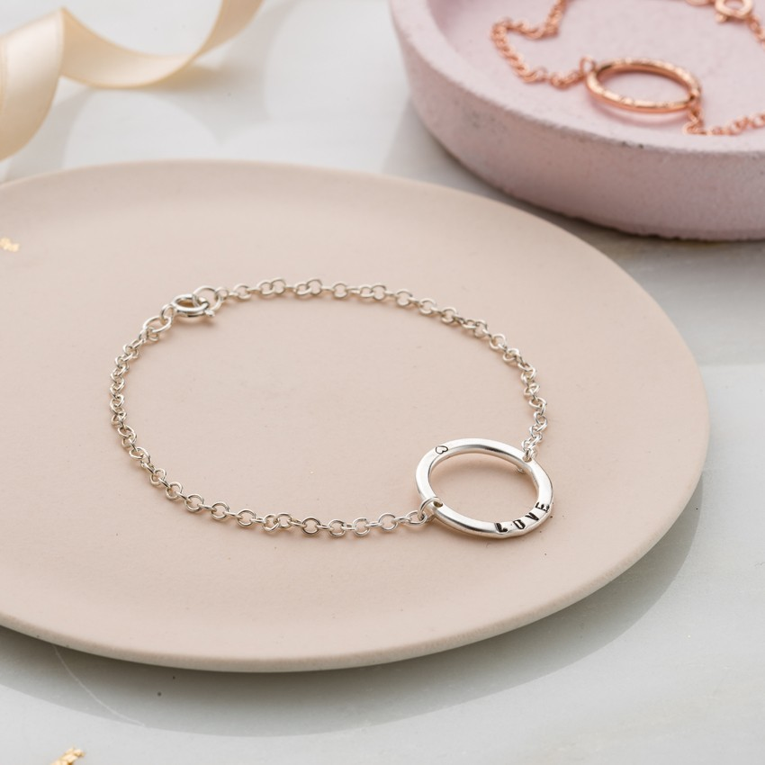 Personalised Full Circle Bracelet