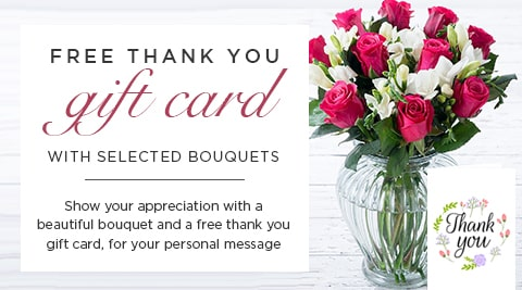 Thank You Flowers | Say Thanks with Flowers - Appleyard London