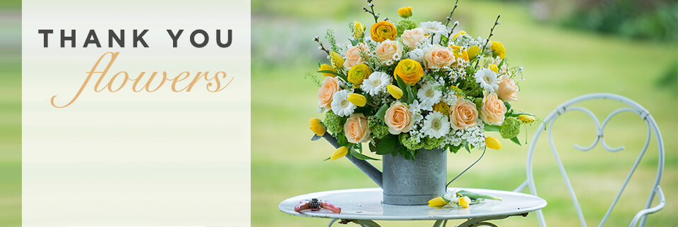 Thank You Flowers | Say Thanks with Flowers | Appleyard Flowers