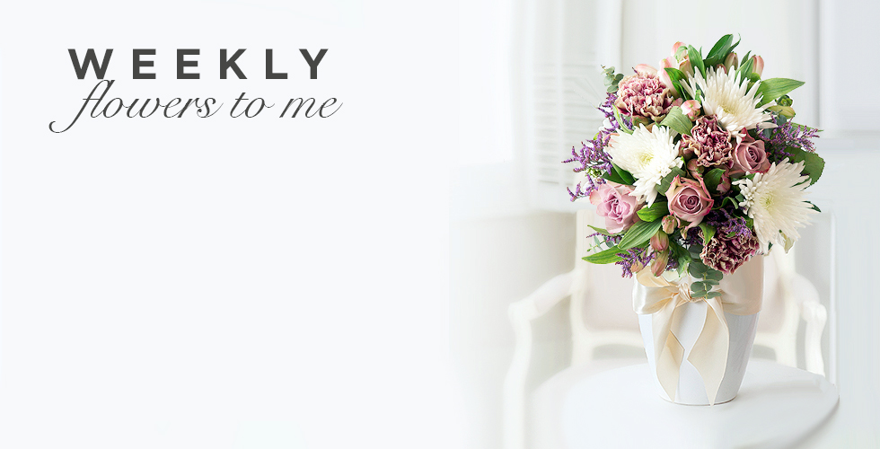 Weekly Flowers To Me